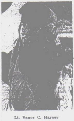 Lt Vance C. Harney