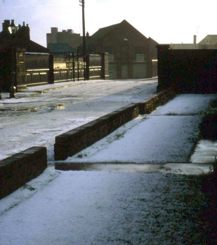 Back Street hailstorm May 1967