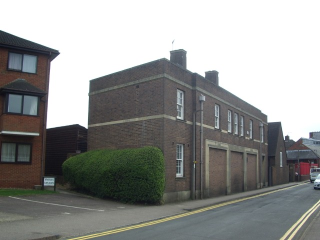 Original garages for Police Station 2015