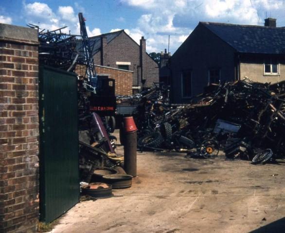 Joseph Allen's scrap yard 1957