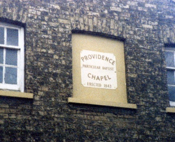 old Providence Chapel 1987
