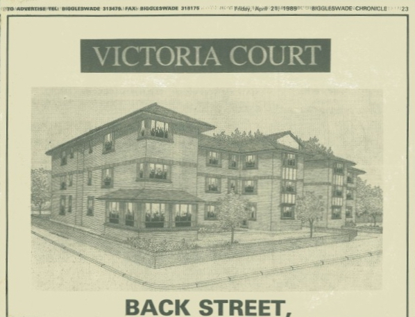 Back Street Victoria Court 1989