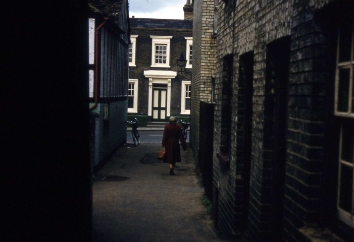 Back Street Roothams Terrace 1957