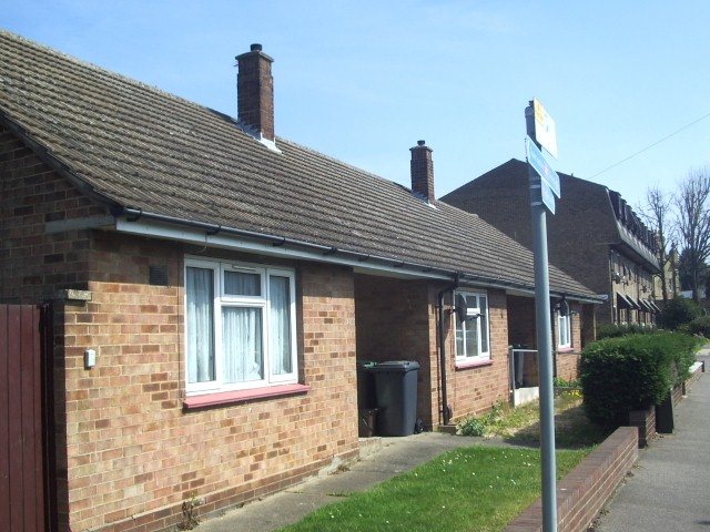 Back Street No 10-14 three bungalows