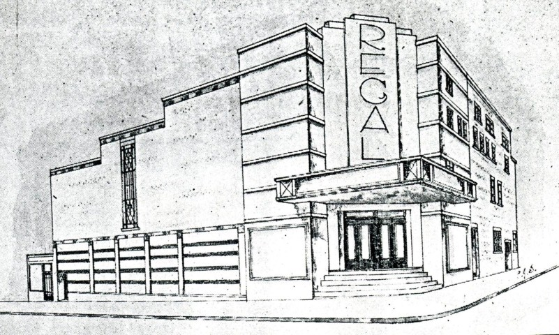 Regal architects impression in 1936