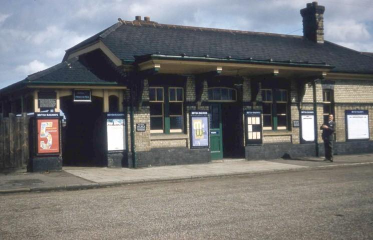 Railway Station 1957