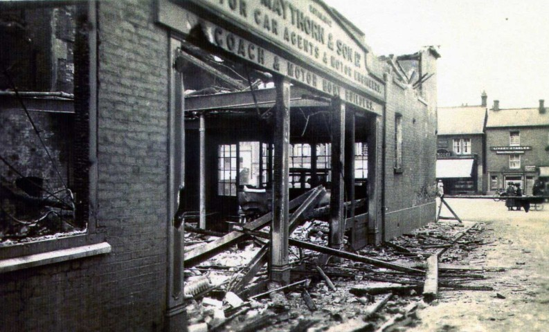 The Morning after Maythorn's 1923 Fire