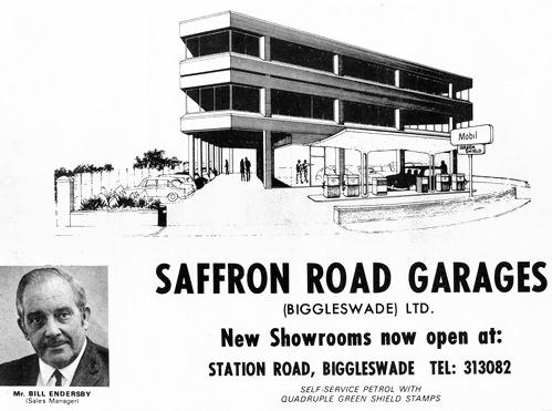 Saffron Road Garages 1972