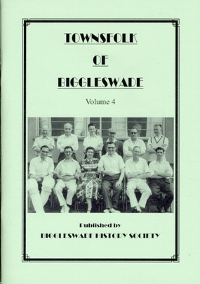 Townsfolk of Biggleswade booklet cover